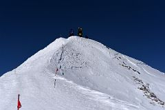 The Final Few Metres To The Mount Elbrus West Main Peak Summit
